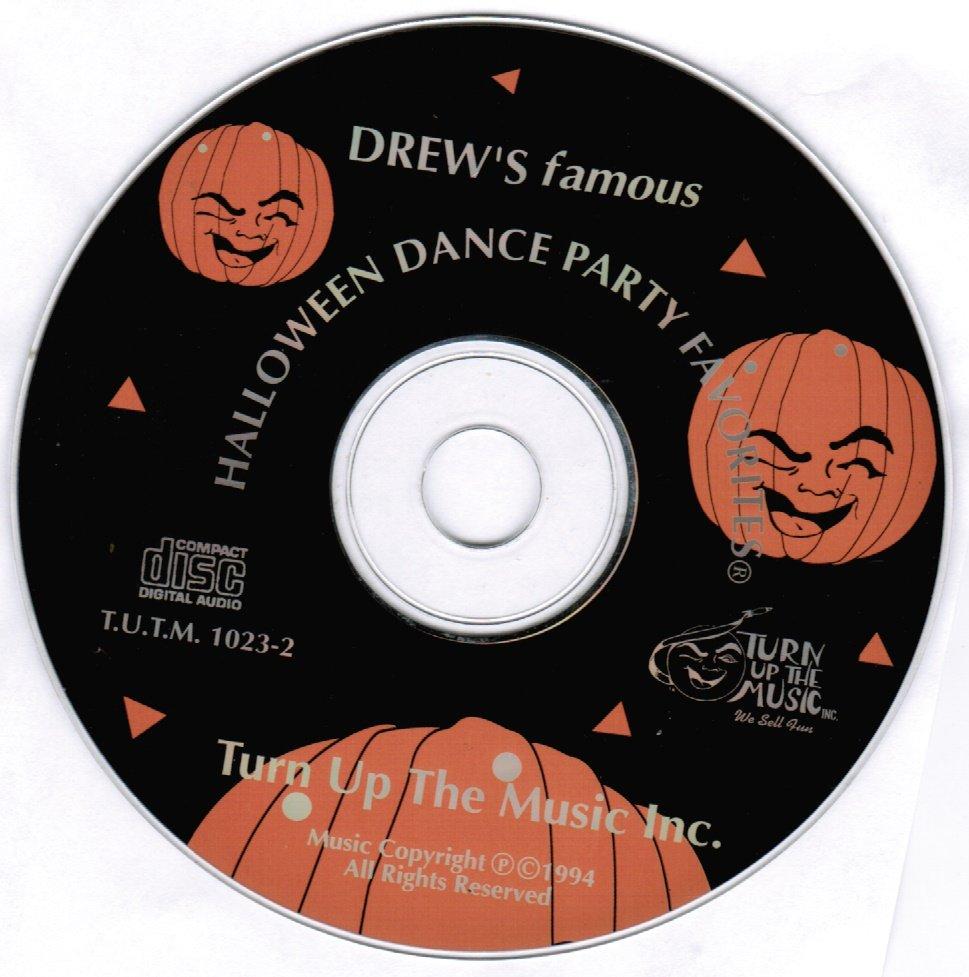 Drew's Famous Halloween Dance Party Favorites CD