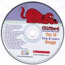 Clifford The Big Red Dog Top 15 Sing and Learn Songs CD