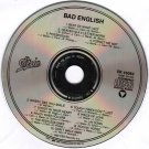 Bad English Self Titled Debut Album CD 1989 Epic