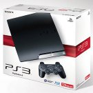 Sony PlayStation 3 Slim 120gb Charcoal Black Console PS3 System CECH-2001A