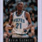 1995-96 Topps Gallery Kevin Garnett #41 Rookie NMMT