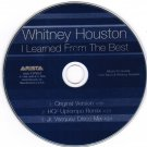 Whitney Houston I learned From the Best CD 3 Tracks