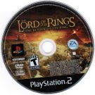 Lord of the Rings The Return of the King PS2