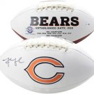 KHALIL MACK AUTOGRAPHED TEAM LOGO FOOTBALL BEARS