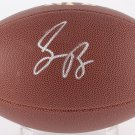 SAQUON BARKLEY AUTOGRAPHED FOOTBALL