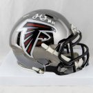 JULIO JONES AUTOGRAPHED MINI HELMET