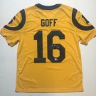 JARED GOFF AUTOGRAPHED JERSEY