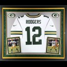 AARON RODGERS AUTOGRAPHED JERSEY FRAMED STEINER SPORTS BLACK FRIDAY SALE