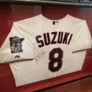 KURT SUZUKI AUTOGRAPHED JERSEY NATIONALS