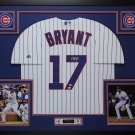 KRIS BRYANT FRAMED AUTOGRAPH JERSEY