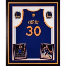 STEPHEN CURRY AUTOGRAPHED JERSEY FRAMED BLACK FRIDAYSPECIAL