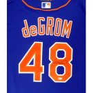 JACOB DEGROM FRAMED AUTOGRAPHED JERSEY