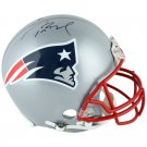 TOM BRADY AUTOGRAPHED RIDELL HELMET FULL SIZE