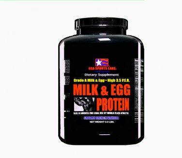 PROTEIN MILK & EGG FORMULA High 3.5 P.E.R. 2.2 lb Vanilla Flavor