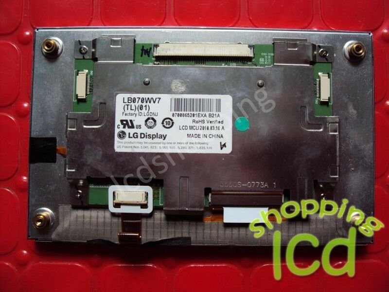 "New screen display panel LB070WV7(TL)(01) 7""TFT LCD 800×480 90 days warranty"
