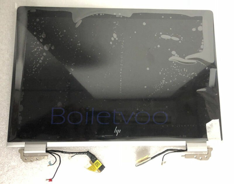 """931048-001 917927-001 HP 13.3"""" X360 LCD Display Touchscreen Assembly Hinge up"""