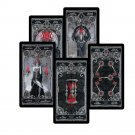 78 Dark Tarot Cards Deck Fate Divination Tarot Card Game Board 4 Language