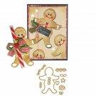 Gingerbread Metal Cutting Dies Christmas Cookie Cut Die Stencil Scrapbooking