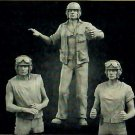 1/35 Resin Figure Model Kit US Soldiers Sherman WWII WW2 Unpainted Unassambled