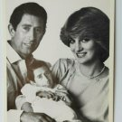 Comic Prince Charles baby of Prince Charles and  Diana 4x6 Postcard  Not Posted