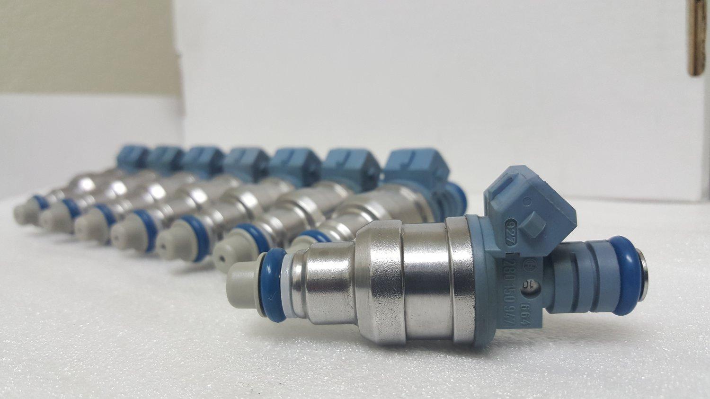24# Bosch/Ford Racing Fuel Injectors (M-9593-A302) 87-04 Mustang Cobra 4.6L/5.0L (Set of 8)