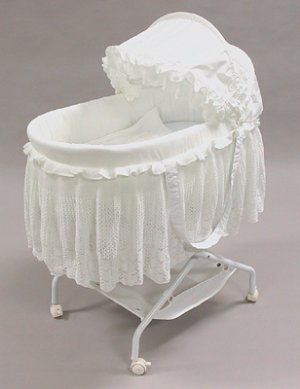 "Rizzo ""Heavely Lace"" Jumbo Bassinet"