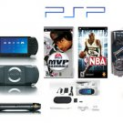 "Sony PSP ""Sports Bundle"" - 2 Games UMD Sampler Pack  PSP Car Kit  Other Acces MSRP $399.99"