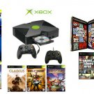 "Xbox ""GTA San Andreas Ultimate Bundle""- 9 Games + 2 Controllers"