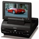 "Sony MV-65ST Portable Slot-Loading DVD Player w 6.5"" Widescreen LCD & FM Wireless Transmitter"