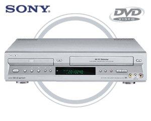 Sony SLV-D300P Combination Progressive-Scan DVD CD player + HiFi VCR