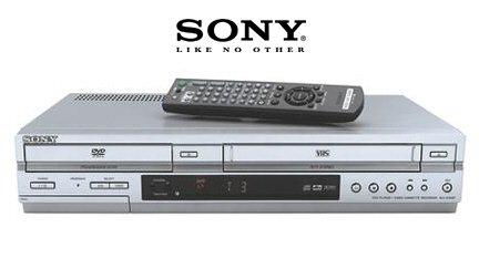 Sony SLV-D350P Progressive-Scan DVD CD player + HiFi VCR Combination