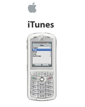 Motorola Rokr E1 iPod Cell Phone 100 Songs in Your Pocket (Unlocked)