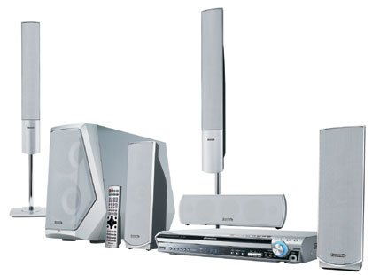 Panasonic SC-HT930 - 1000 Watts Wireless Home Theater System with 5 Disc DVD player