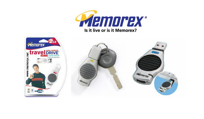Memorex 2GB - USB 2.0 Travel Pen Flash Thumb Drive