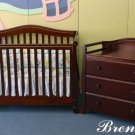 "Giovanni Rizzo ""Brentwood"" Full Size Baby Crib MSRP 599.99"