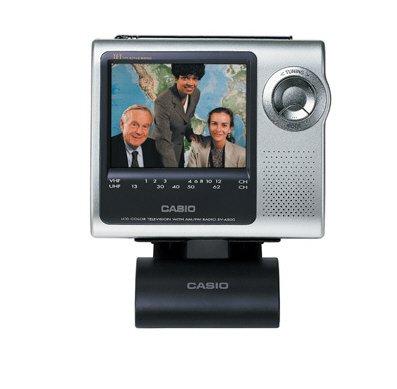 Casio EV4500 4-in. Handheld Color TV with Desktop Stand