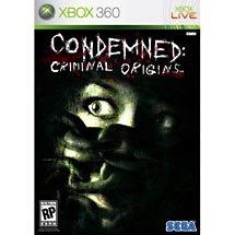 Condemned Criminal Origins Xbox 360