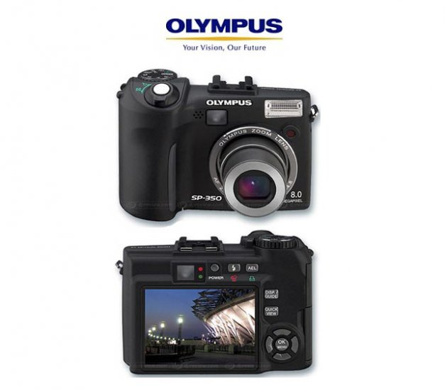 Olympus SP350 - 8.3 Megapix Digi Cam w 3x Optical5x Digital Zoom