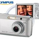 Olympus Stylus 500 - 5.0 Mp Digi Camera W 3x Opti Zoom Lens 2.5-inch HyperCrystal LCD
