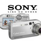 Sony Cybershot DSCP150 - 7.2 Megapixel Digital Still Camera