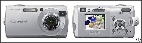 Sony Cybershot DSCS40 4.0 MegaPixels Digital Camera with 3x Optical Zoom