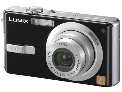 Panasonic Lumix DMCFX7K - 5.0 Megapixels Digi Camera with 3x Optical4x Digial Zoom MSRP$ 599.99