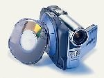 """Hitachi DZMV350A MiniDVD Camcorder with 2.5"""" LCD and Digital Still Capability"""