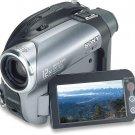 Sony DCRDVD203 1.0 Mega Pixels CCD 2.7 DVDcam 12X optical zoom