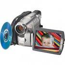 "Sony DCRDVD301 DVD Handycam Camcorder w 3.5"" Hybrid SwivelScreen LCD  Carl Zeiss Vario-Tessar Lens"