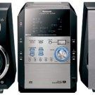 Panasonic SCPM29 140Watts 5-CD Changer CD Cassette Micro System