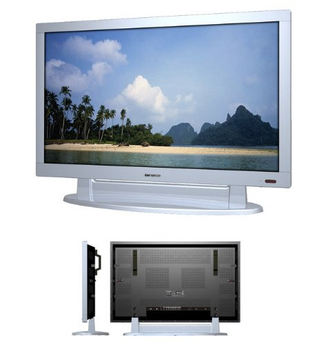 "Tatung 42"" EDTV Plasma TV Monitor with Stand"