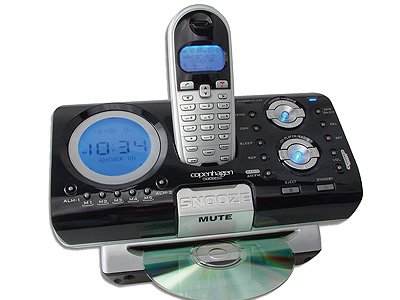 Motokata - 2.4 GHz Cordless Phone with CD Player