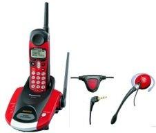 Panasonic KXTG2216FV 2.4GHz Giga Digi Cordless Phone w Voice Enhancer Tech Call Wait