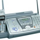 Panasonic KX-FPG377Plain Paper Fax with 2.4 GHz Cordless Phone